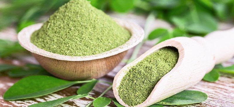 Polvo de moringa (polvo 100% puro) -200 g - Savanil